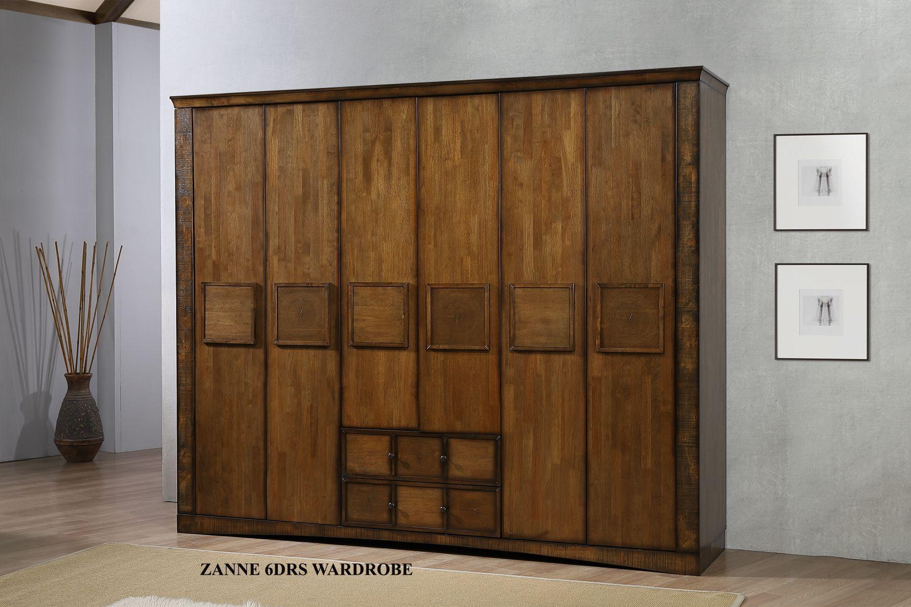 ZANNE 6DRS WARDROBE